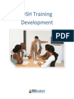 OSH training guide