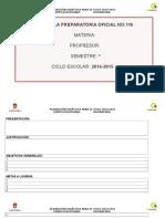 Plan Quimica