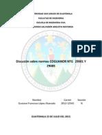 Normas Coguanor 29001 29005