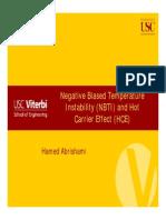 NBTI Fundamentals