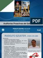 Rodolfo Szuster-Auditorías Proactivas Del Gobierno de TI