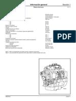 JCB 444 Engine Technical Data