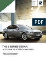 BMW 550 2013 Misc Documents-Brochure