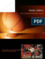 Frank Lollino – Successful Basketball Coach
