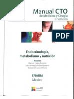 Cto Endocrinologia Metabolismo y Nutricion Mexico cto 1 ed