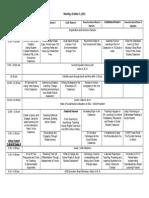 OCSS 2015 Schedule Grid