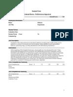 Registered Nurse Performance Appraisal