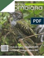 LISTADO DE LA AVIFAUNA COLOMBIANA.pdf