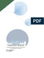 Informe Cuadro Comparativo Sobre Legislación en Salud Ocupacional