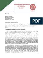 Response by Three Rivers Fire Chief Scott Turner
