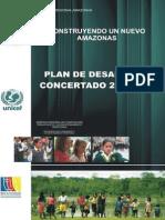 Plan de Desarrollo Concertado Amazonas 2009 2021
