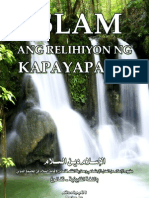 Islam ang Relihiyon ng kapayapaan - Tagalog