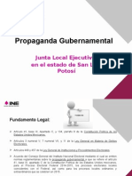Presentacion Propaganda Gubernamental