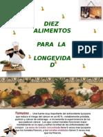 10Alimen10 Alimentos Para La Longevidad.tosParaLaLongevidad
