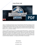Jurassic World The Game Pirater Apk