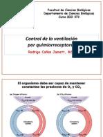 BIO372 Control de La Ventilación Por Quimiorreceptores