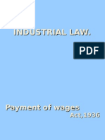 Industrial Law Presentation