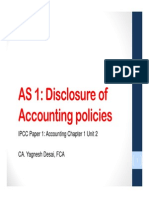 Chapter 1 Accounting- Disclosure