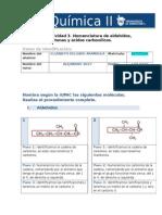 MIV U5 Actividad 3 Nomenclatura de Aldehidos Cetonas y Acidos Carboxilicos Quimica II