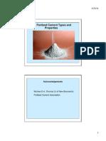 3 Tipos de Cemento