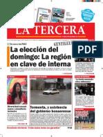 Diario La Tercera 07.07.2015