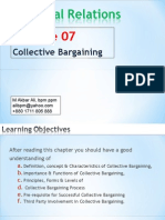 IR Lecture 07 Collective Bargaining SMALL
