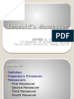 Leopold's Manaeuver