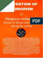 India Religious Intolerance Report
