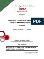 Retraso del gas natural en República Dominicana