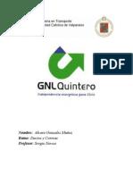 Trabajo Ductos - GNL Quintero - Alvaro Gonzalez Muñoz