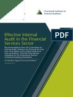 Effective Internal Audit Financial GLOBAL