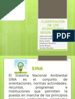 Clasificación de Los Ecosistemas Según El SINA Exposicion