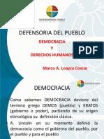 Presentacion Democracia Ddhh - Bolivia