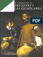 Stephen Boyd-A Companion to Cervantes's Novelas Ejemplares (Monografias a)