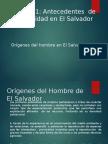 Origenes Del Hombre en El Salvador