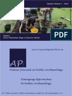 Arqueología publica (2014)
