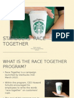 Race Together PowerPoint