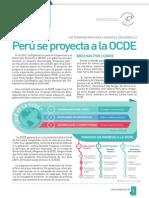 Perú se proyecta a la OCDE