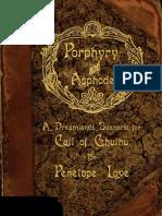 Porphyry Asphodel - Penelope Love