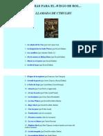 Listado de aventuras gratuitas para Cthulhu