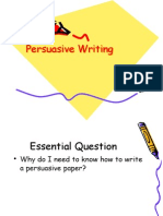 assignment 6 -persuasive writing powerpoint