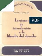 Ghiraldi, Olsen - Lecciones de Introduccion a La Filosofia Del Derecho