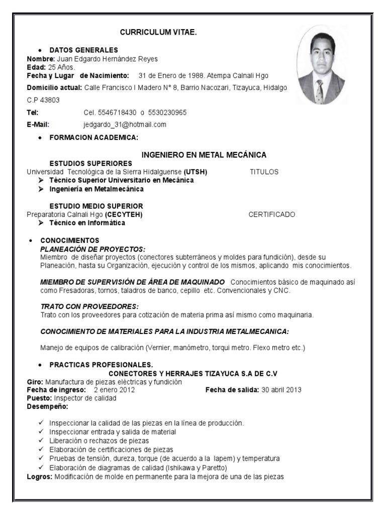 Excepcional Ejemplos De Currículums De Dibujo De Tuberías Fotos ...