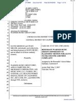 David Grisman et al v. UMG Recordings Inc et al - Document No. 60