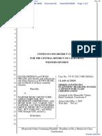 David Grisman et al v. UMG Recordings Inc et al - Document No. 62