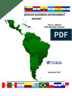 2007 LATIN AMERICAN-Business Environment report