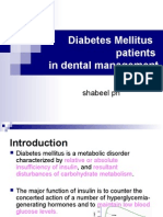 Diabetes Mellitus Patients
