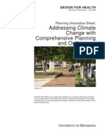 Addressing Climate Change With Comprehensive Planning and Ordinances - DfH USA - 2007