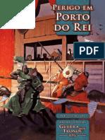 Guerra Dos Tronos RPG - Perigo Em Porto Do Rei - Taverna Do Elfo e Do Arcanios