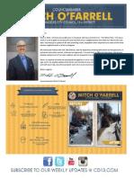 Councilmember Mitch O'Farrell Midterm Report